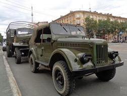 Военные автомобили аренда билеты из самары в хабаровск на самолет